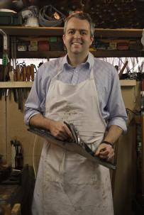Picture of Geoffrey Warwick - Antique Furniture Restorer